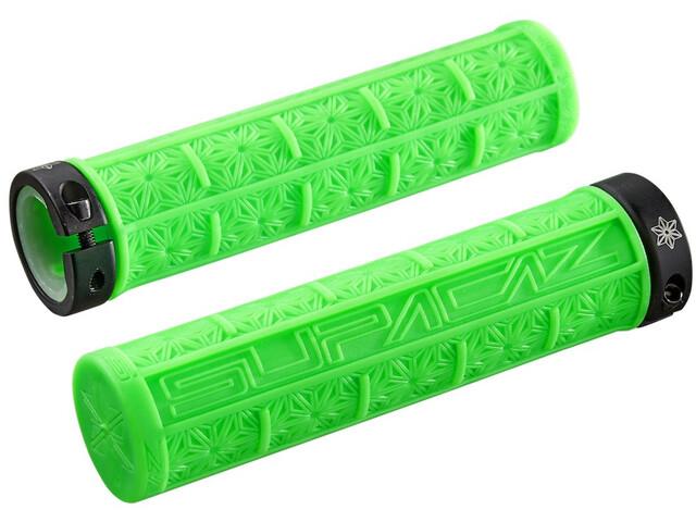 Supacaz Grizips Puños, neon green